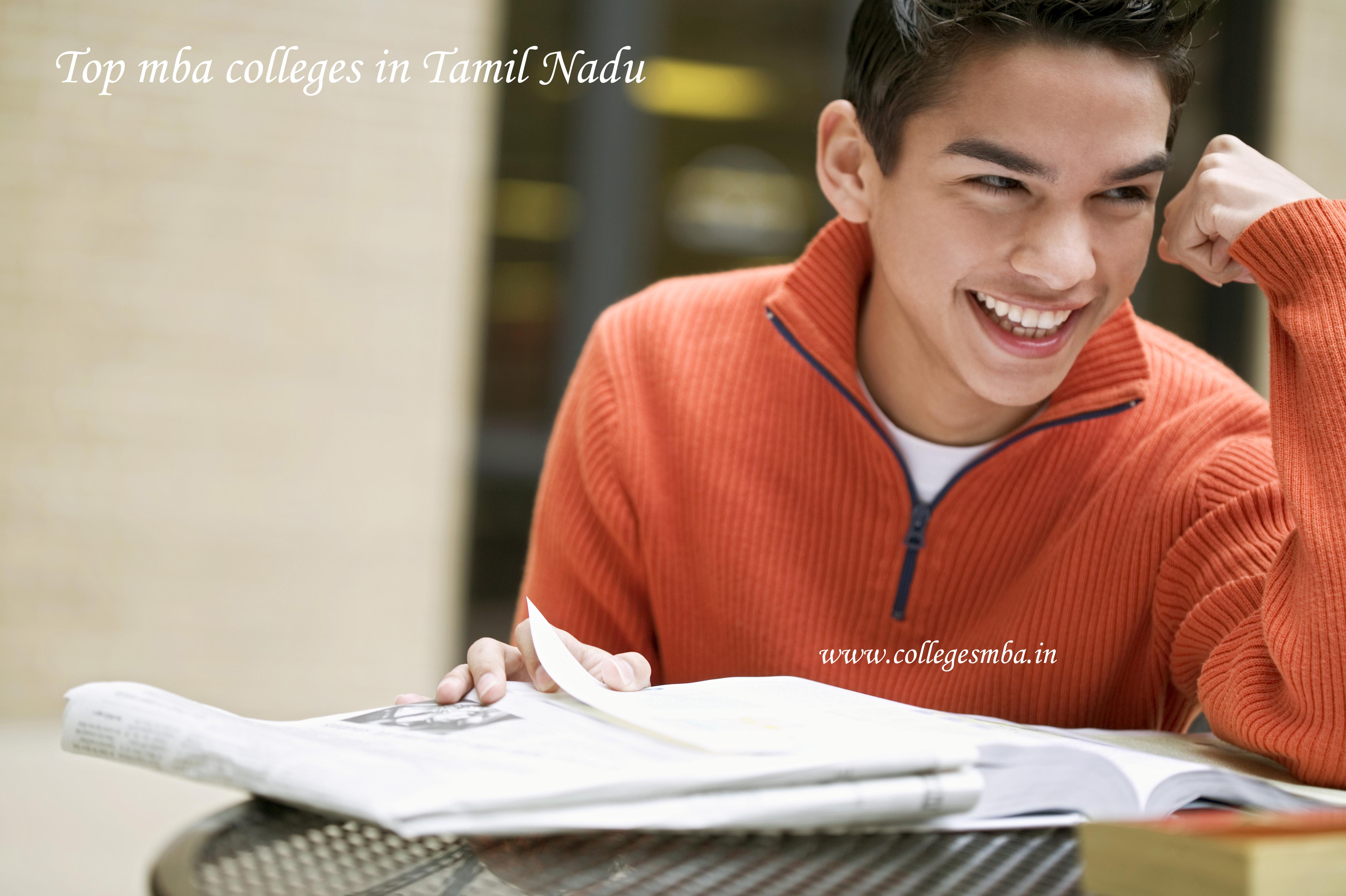 Top MBA Colleges in Tamil Nadu